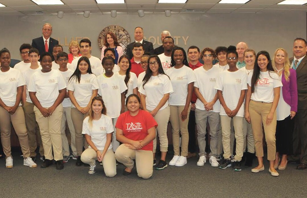 Taste of Immokalee at Collier County Board of Commissioners